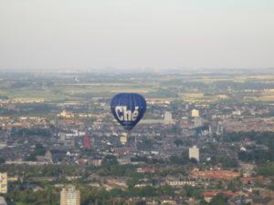 Luchtballon boven Maastricht
