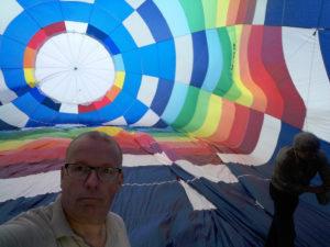 Kleurrijke luchtballon