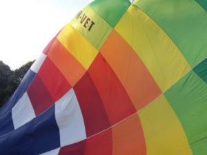 Luchtballon in Maastricht