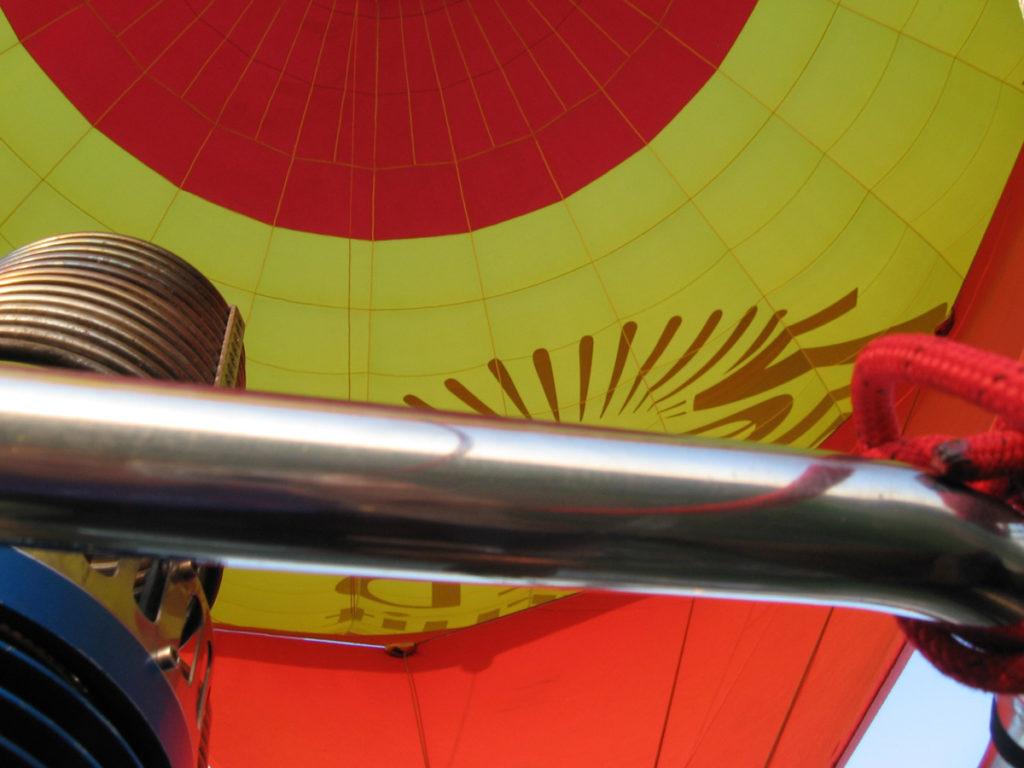 Zespri Hete luchtballon